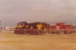 Wide out shot of the park with the ALCO and a CofGA caboose.  These were later moved to a local colllege.